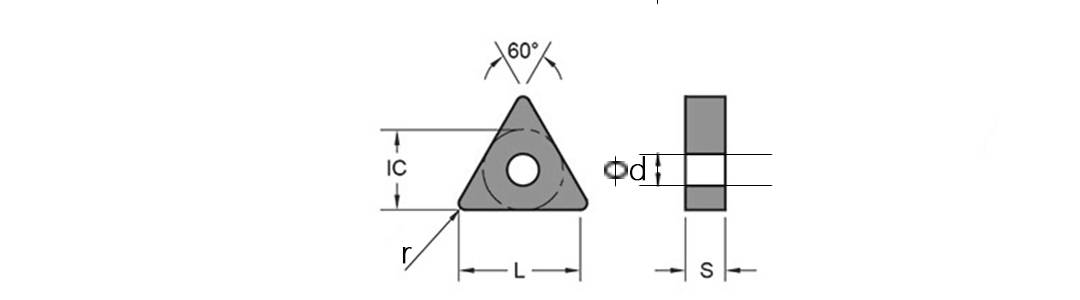 TNMG Turning Inserts schematic diagram